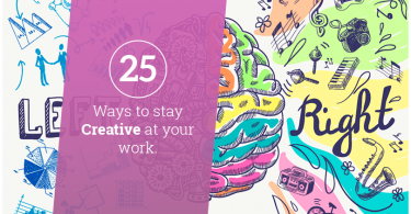 25 Ways to stay Creative at your work