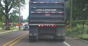 8 Hilarious Truck Signs Spotted On the Road